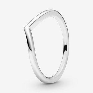 🍓Pandora Clear Heart Beaded Ring